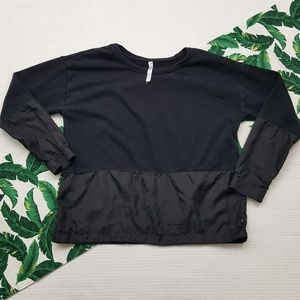 Fabletics Pullover Paneled Top
